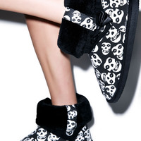Iron Fist Misfits Fiend Skull Fugly Boot Black