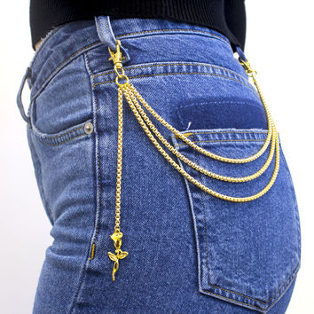 La Rosa Pocket Chain