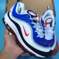 DCCK2 N354 Nike Air Max 98 20th Anniversary Casual Running Shoes Red White Blue