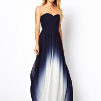 Coast | Coast Sheena Maxi Dress in Dip Dye at ASOS