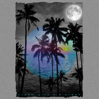 Dream Within A Dream (Palm Tree Paradise 2) by soaringanchordesigns