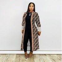 FENDI Fashion Women Cardigan coat