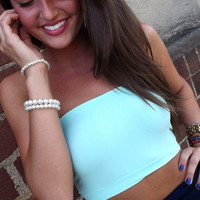 Turquoise Bandeau | The Rage
