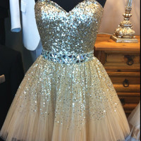 Short Homecoming Dress 2016