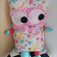 Lucy the Plush Monster Doll Pillow