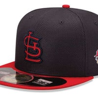 St. Louis Cardinals 2013 MLB Diamond Era World Series Patch 59FIFTY Cap