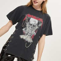 Metallica Chain Side T-Shirt by And Finally - T-Shirts - Clothing