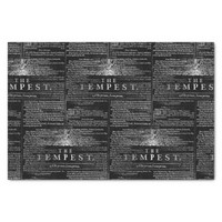 The Tempest Shakespeare Play Tissue Paper