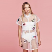 Lazy Oaf Sweet Stuff Sheer Shirt