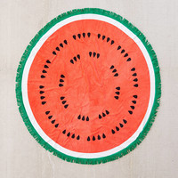 ban.do Round Watermelon Towel | Urban Outfitters