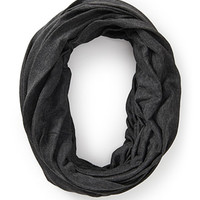 FOREVER 21 Heathered Knit Infinity Scarf