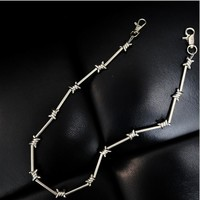 BARBED WIRE Stainless Steel Chain