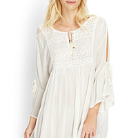 Embroidered Soft Woven Dress