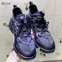 DIOR New fashion sports and leisure shoes women Black