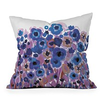 Natasha Wescoat Glowing Perussian Throw Pillow