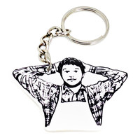 Andy Dwyer Keychain