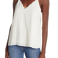 Socialite | Scalloped V-Neck Cami | Nordstrom Rack