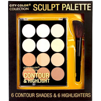 CITY COLOR COLLECTION SCULPT PALETTE