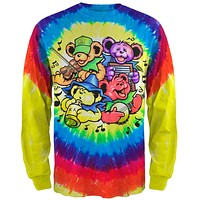Grateful Dead - Bear Jamboree Tie Dye Long Sleeve T-Shirt