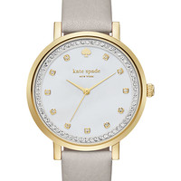 clocktower grey pave monterey watch | Kate Spade New York