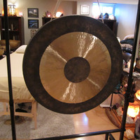"36"" Chau Gong #355 - D - Sacral- Chakra - 2nd Octave - D#2 -33 - Tam-Tam - Hand Hammered - Meditation - Yoga - Energy Work !!!!!!!"