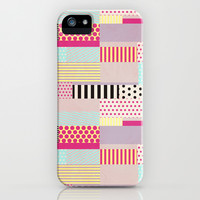 Decorative Tape iPhone & iPod Case by Louise Machado
