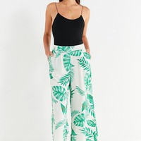 J.O.A. Printed Wide-Leg Pant | Urban Outfitters