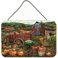Pumpkin Patch and Fall Farm Wall or Door Hanging Prints PTW2008DS812