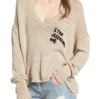Wildfox Stop Judging Me Sweater | Nordstrom