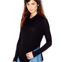 Free People Long-Sleeve Cowl-Neck Sweater