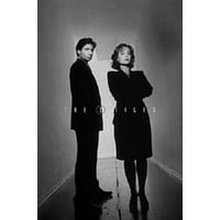 """The X Files Poster Black and White Poster 16""""x24"""""""