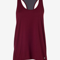 berry EXP core mesh and tulip back tank