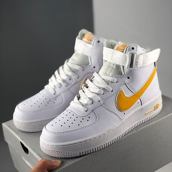 Nike Air Force 1 Fashionable high-top sneakers classic casual sports sneakers-2