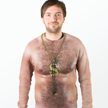 70s Hairy Chest Sweater at Firebox.com