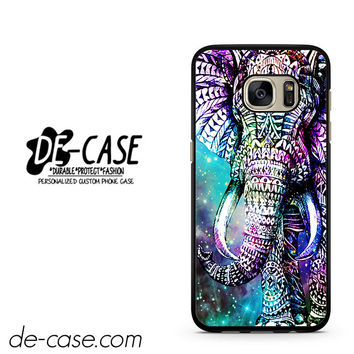 Elephant Aztec In Galaxy Nebula Space DEAL-3872 Samsung Phonecase Cover For Samsung Galaxy S7 / S7 Edge