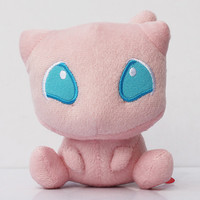 Pokemon Mew Plush Doll Soft Stuffed Animals Plush Doll Gifts Free Shipping
