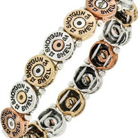 Shot Gun Shell Bracelet | Multi