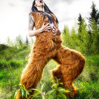 A Faunny costume by CharmingMelancholy on Etsy