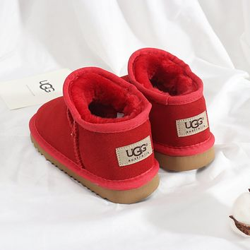 UGG Girls Boys Children Baby Toddler Kids Child Fashion Casual Boots-6