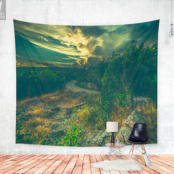Road to oblivion Wall tapestry
