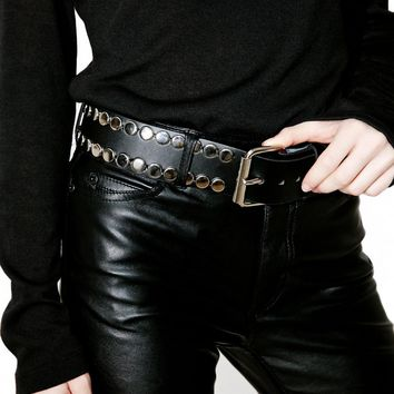 Turn To Darkness Studded Belt