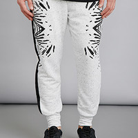 EPTM. Abstract Print Thermal Sweatpants