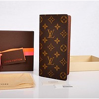 LV Louis Vuitton Flor Women Girl Monogram Canvas Neverfull Two piece With Wallet