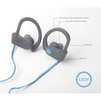 iJoy FS IPX7 Premium Sport Bluetooth Waterproof Earbuds with Noise Cancellation Technology - Walmart.com