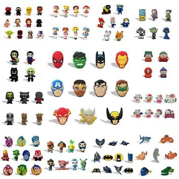 Star Wars Force Episode 1 2 3 4 5 50pcs/set Avengers  Whiteboard Magnetic Sticker Fridge Magnet Sticker Party Favors Party & Holiday Decoration AT_72_6