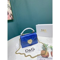 D&G Women Leather Shoulder Bags Satchel Tote Bag Handbag