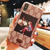 GUCCI New fashion people more letter print couple protective cover phone case 5#