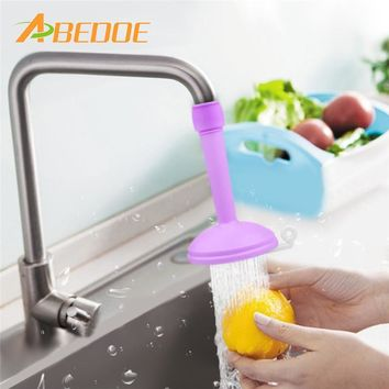 ABEDOE Sprinkler Head Kitchen Faucet Splash Water Filter Regulator Extender Spill Water Saving Water Tap Valve Shower Filter
