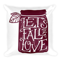 Let's Fall In Love (Pillow)