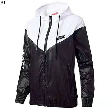 NIKE 2019 new thin section breathable anti-fall women's sun protection clothing #1